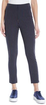 Derek Lam 10 Crosby Striped Cropped Cotton Leggings