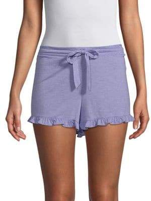 Natori Ruffle Sleep Shorts