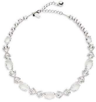 Kate Spade Crystal Cascade Bow-Link Necklace