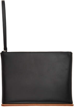 Building Block SSENSE Exclusive Black Large Pouch