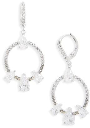 Women's Judith Jack Lend An Ear Circle Drop Earrings $135 thestylecure.com