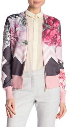 Ted Baker Palace Gardens Zip Up Cardigan