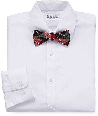 COLLECTION BY MICHAEL STRAHAN Collection By Michael Strahan Long Sleeve Woven Dress Shirt Boys 8-20 Regular & Husky