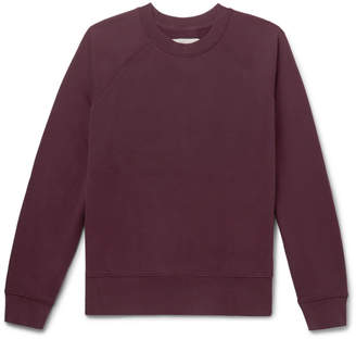 at Mr. Porter · Studio Nicholson Loopback Cotton-Jersey Sweatshirt 82b006f76