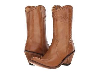 Old West Boots Crisscross Stitch Boot