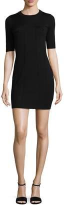 Love Moschino Women's Seamed Wool Dress