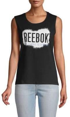 Reebok Logo Muscle Tank Top