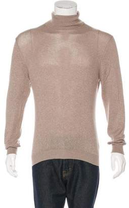 Malo Cashmere-Blend Turtleneck Sweater