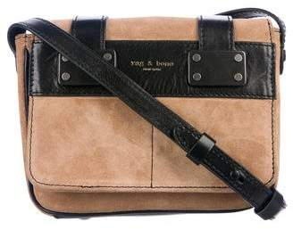 Rag & Bone Suede Mini Pilot Bag