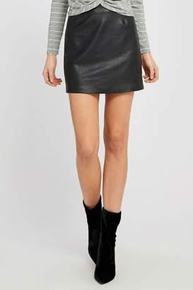 Gentle Fawn Vegan Leather Skirt