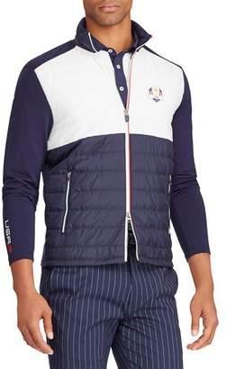 Ralph Lauren Men's Ryder Cup USA Cool Wool Insulating Golf Jacket
