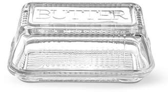 Williams-Sonoma Williams Sonoma Bordeaux Glass Butter Dish