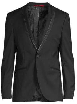 HUGO Phil Trimmed Lapel Sport Jacket