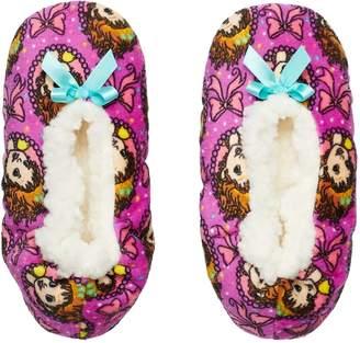 Disney Disney's Fancy Nancy Girls 4-16 Fuzzy Babba Slippers