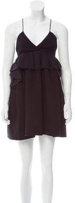 Victoria Beckham Victoria, Wool Mini Dress