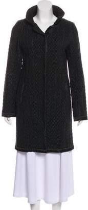 Max Mara 'S Quilted Long Coat