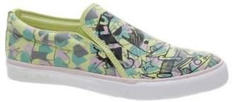 Volcom Vs1 Low Creedler Lime Girls Slip-On Shoe Adult 06