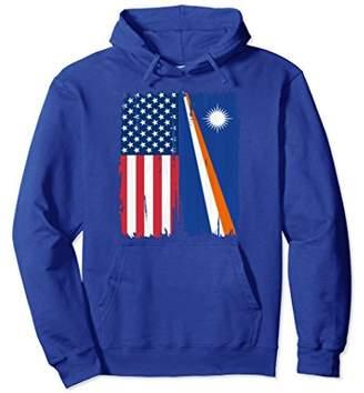 USA Marshall Islands Flag Hoodie