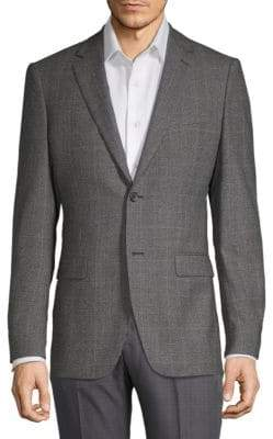Theory Two-Button Textured Jacket