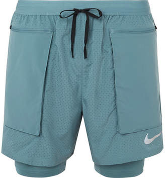 Nike Running Flex Stride 2-In-1 Dri-Fit Mesh Shorts