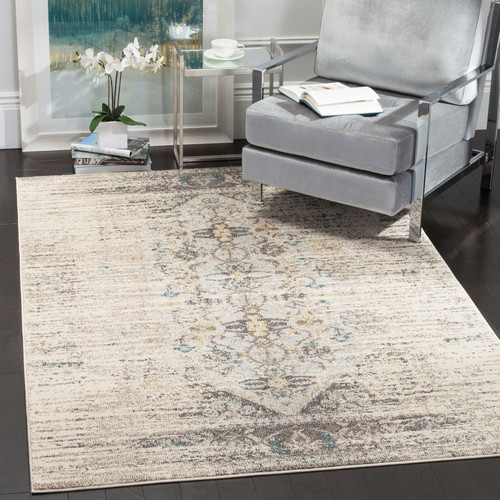 Mercury Row Hydra Brown/Green Area Rug Rug