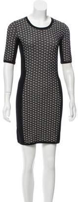 Rag & Bone Short Sleeve Bodycon Dress