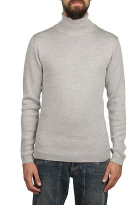 Daniele Fiesoli Merinos Wool Turtle-neck Sweater