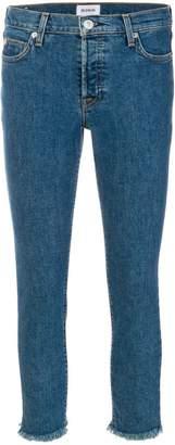 Hudson cropped skinny jeans