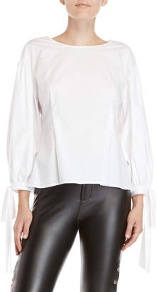 Vince Camuto \White Balloon Sleeve Blouse