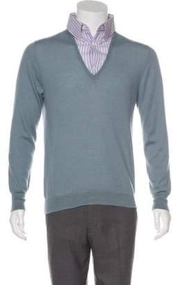 Alexander McQueen Cashmere V-Neck Sweater