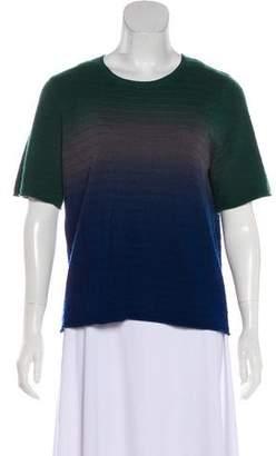 Raquel Allegra Wool Cashmere-Blend Ombré Sweater