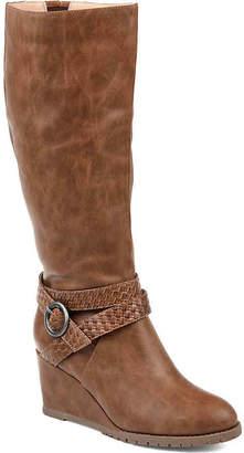 Journee Collection Garin Wedge Boot - Women's