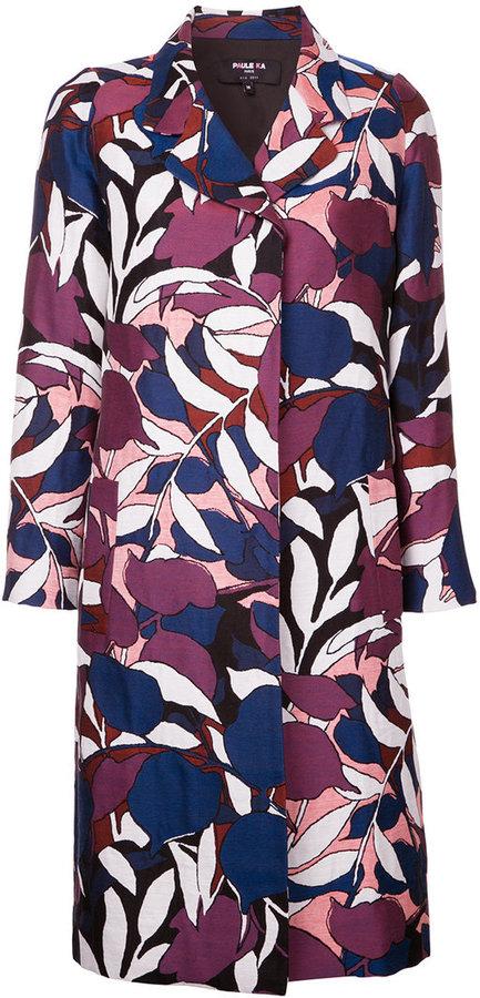 Paule KaPaule Ka floral woven coat