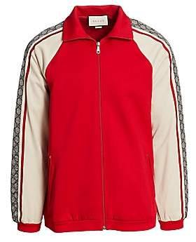 a3861b7daa0 Gucci Men s Oversize Technical Jersey Jacket