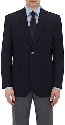 Barneys New York MEN'S WOOL TWILL TWO-BUTTON SPORTCOAT - NAVY SIZE 40 L