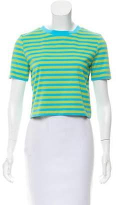 MICHAEL Michael Kors Striped Short Sleeve Top w/ Tags