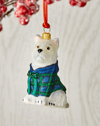 Joy To The World Collectibles Westie in Hoodie Ornament