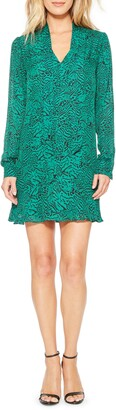 Parker Mercer Long Sleeve Shift Dress