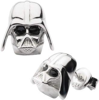Star Wars FINE JEWELRY Sterling Silver 10.9mm Stud Earrings