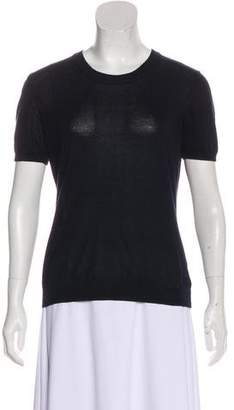Moncler Short Sleeve Knit Top