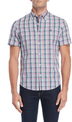 Original Penguin Pink Plaid Short Sleeve Shirt