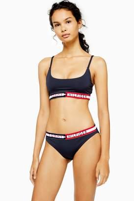 Tommy Hilfiger Navy Bikini Bottoms
