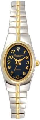 Gruen Precision By Precision by Women's Diamond Two Tone Watch