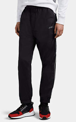 Saturdays NYC Men's Gino Contrast-Piped Track Pants - Black