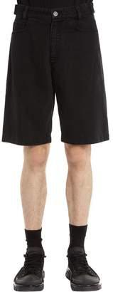 Raf Simons Cotton Denim Shorts