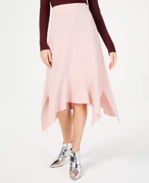 INC International Concepts I.n.c. Handkerchief-Hem A-Line Skirt, Created for Macy's