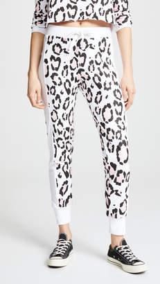Wildfox Couture Blush Leopard Sweatpants