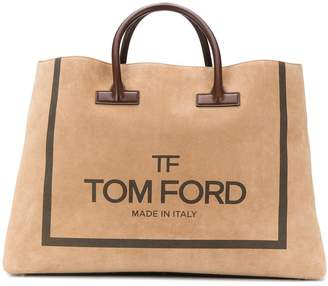 Tom Ford oversized logo tote