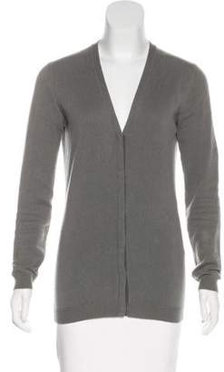 Barneys New York Barney's New York Cashmere Long Sleeve Cardigan
