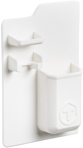 TOOLETRIES White Mighty Toothbrush Holder
